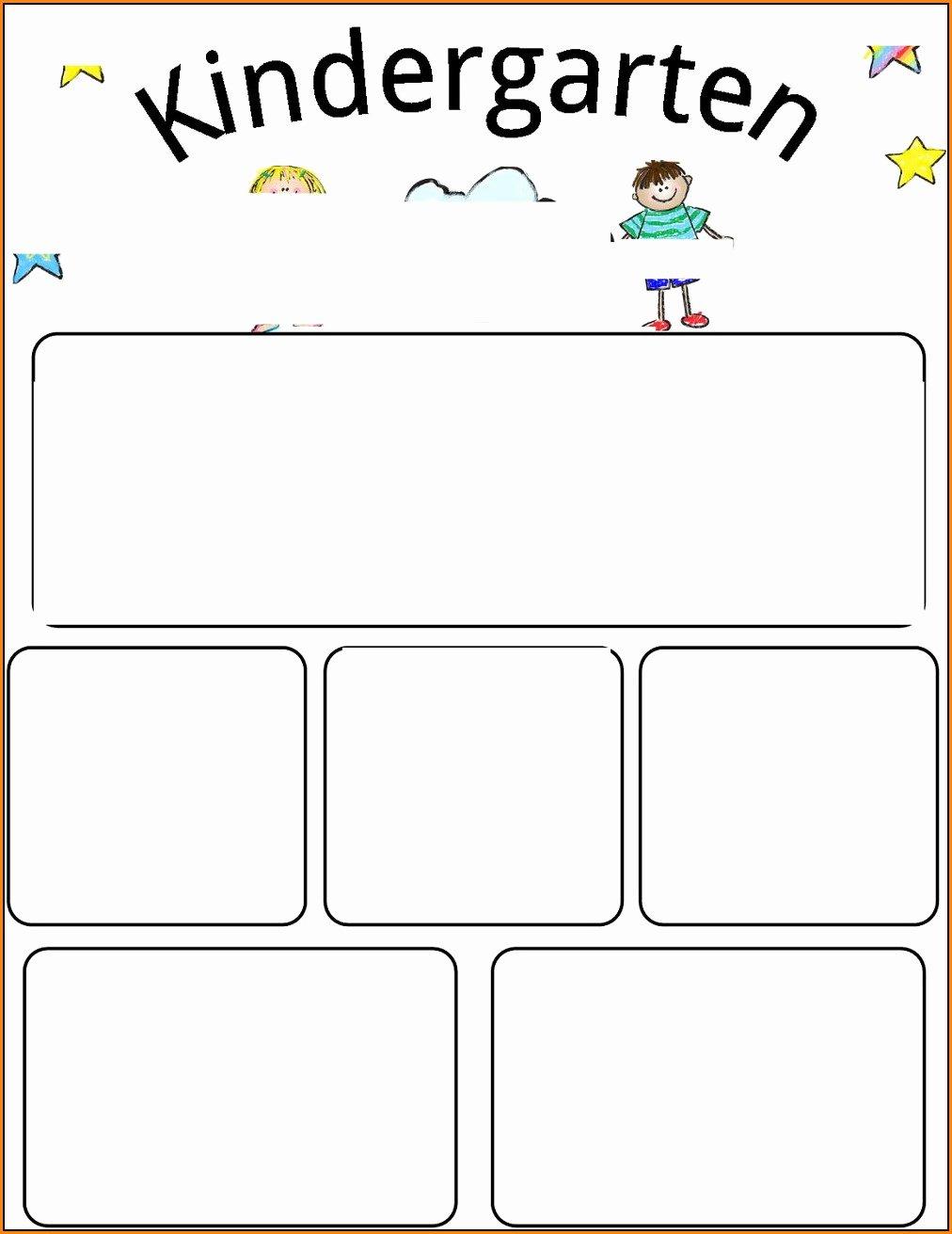 Free Preschool Newsletter Template Microsoft Word Fresh Free Editable Preschool Newsletter Templates for Word