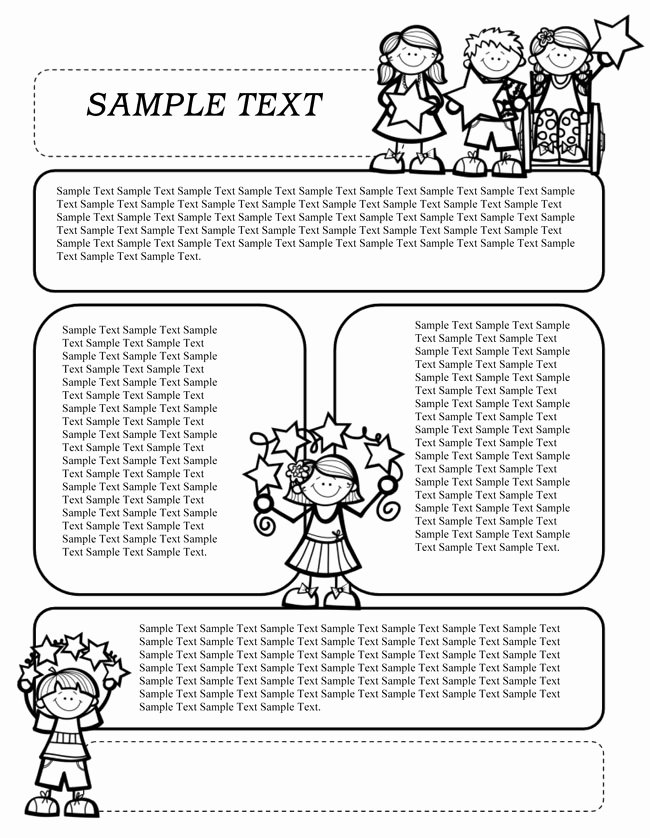 Free Preschool Newsletter Template Microsoft Word Lovely 16 Preschool Newsletter Templates Easily Editable and