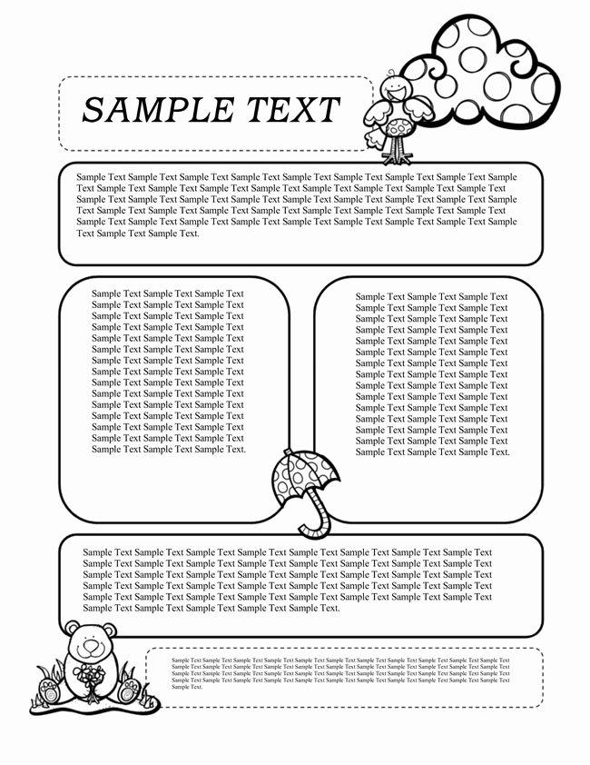Free Preschool Newsletter Templates for Word Unique 16 Preschool Newsletter Templates Easily Editable and
