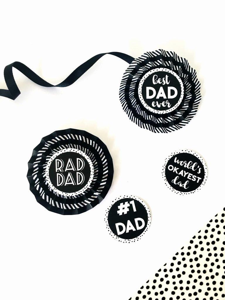 Free Printable Award Ribbons Beautiful Diy Paper Award Ribbons for Father S Day Free Printable