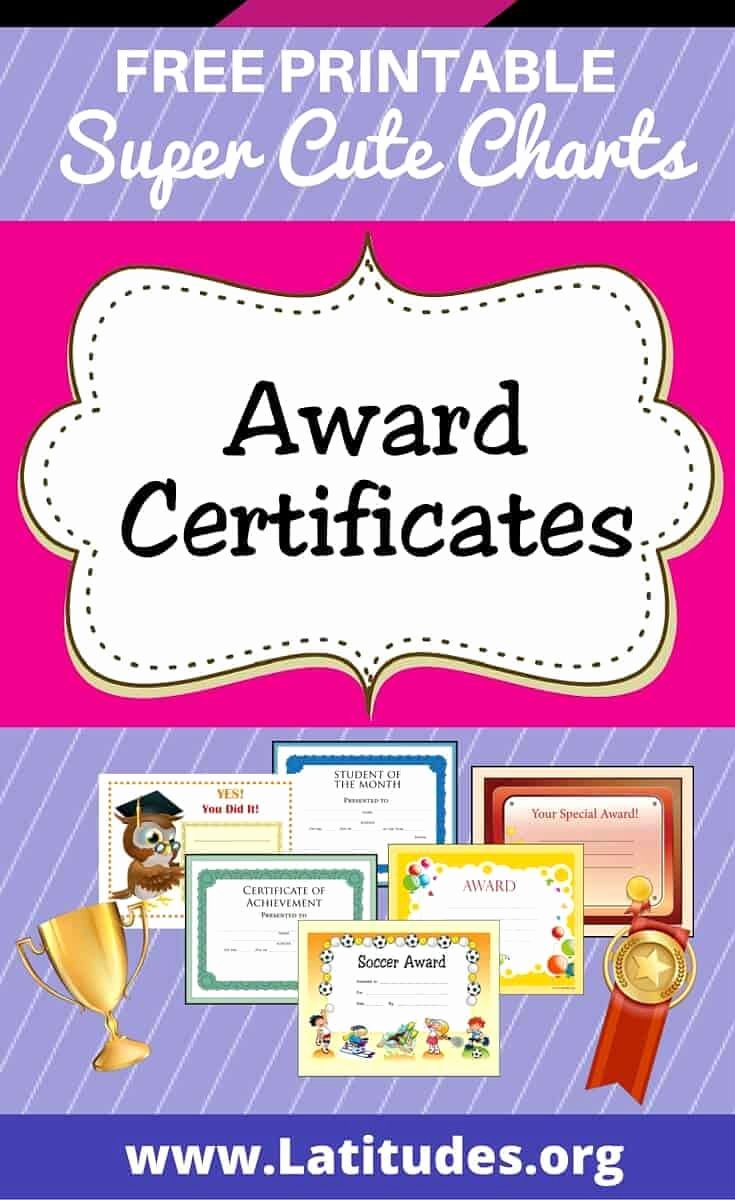 Free Printable Award Ribbons Best Of Free Printable Award Certificates for Teachers & Students