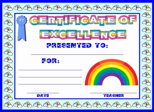 Free Printable Award Ribbons Unique Achievement Award Certificates