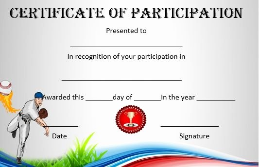 Free Printable Baseball Certificates Unique 19 Best Baseball Certificate Templates Images On Pinterest