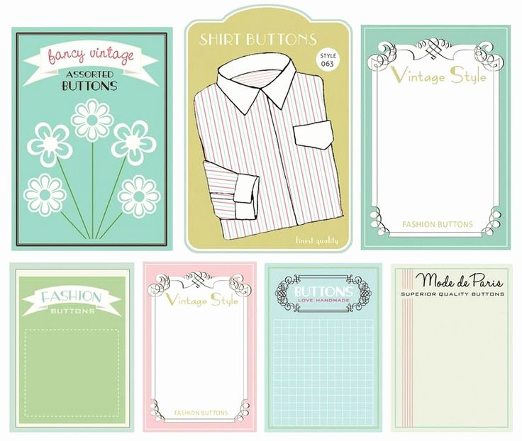 Free Printable button Templates Fresh 17 Best Images About Dollhouse Sewing Craft Room On