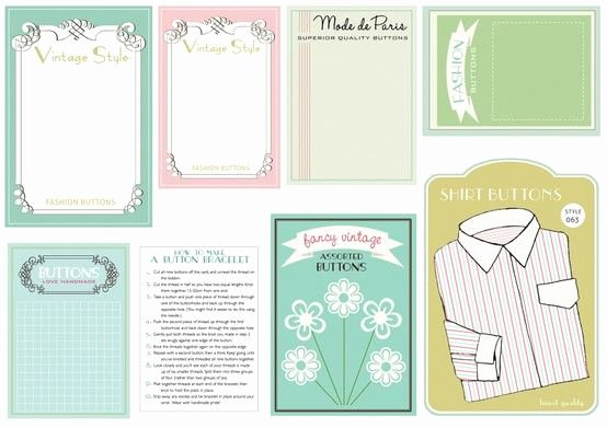 Free Printable button Templates Fresh Great button Cards