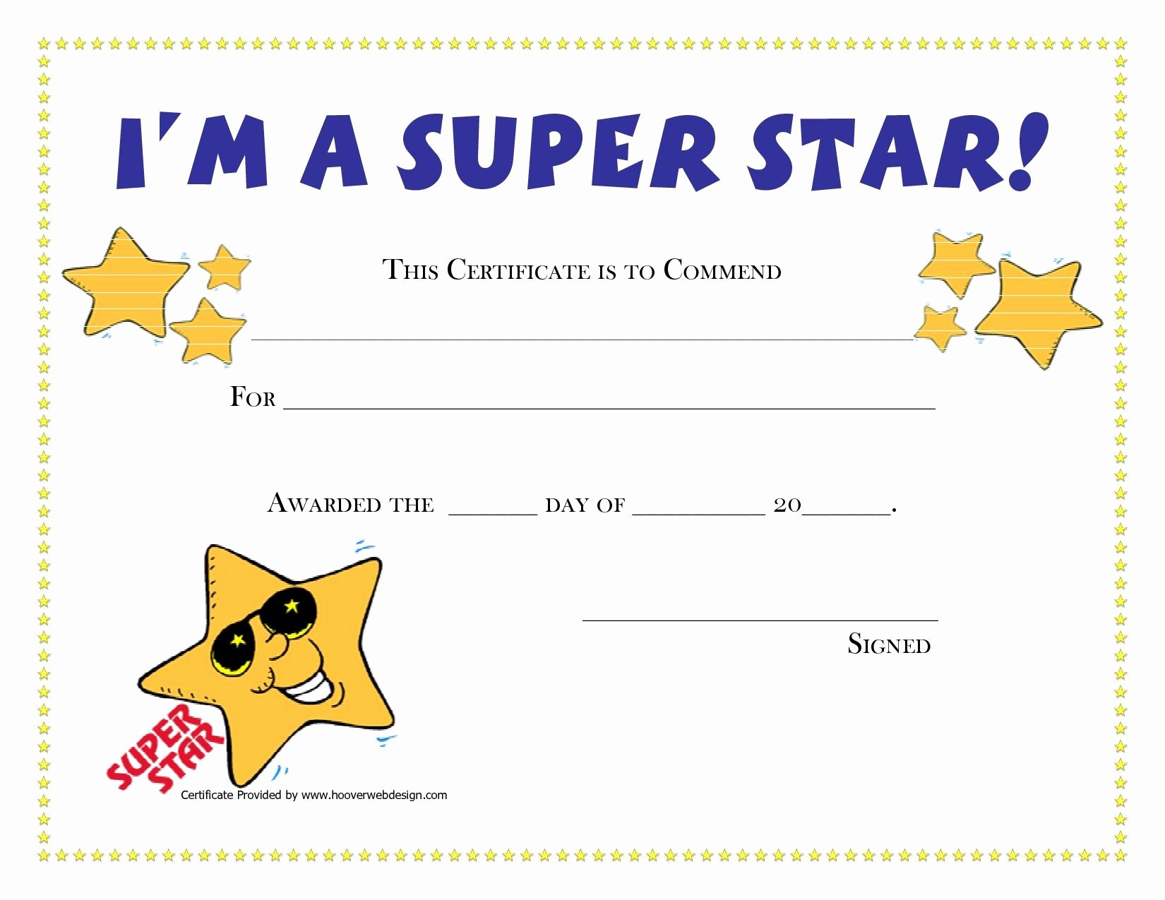 Free Printable Certificates for Students Inspirational Printable Award Certificates for Students