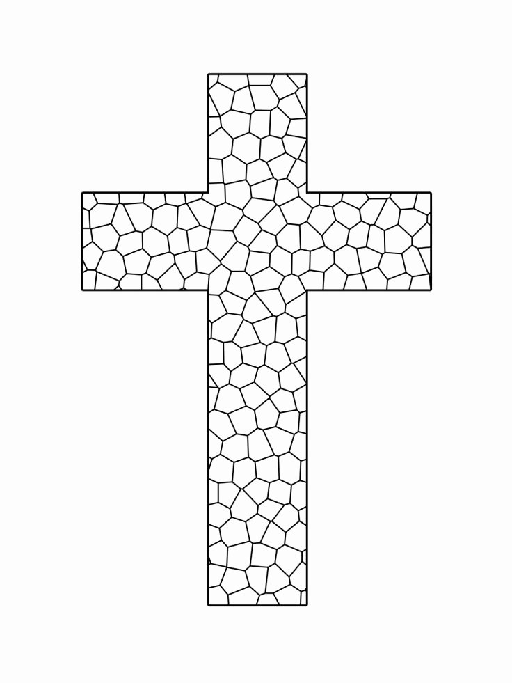 Free Printable Cross Template Awesome 91 Best Images About Cross Templates On Pinterest