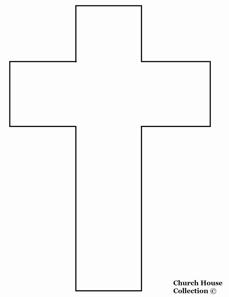 Free Printable Cross Template Best Of Cross Templates Printable
