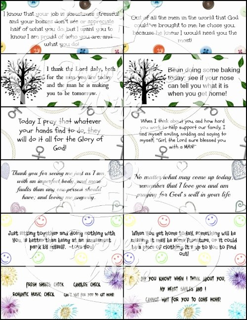 Free Printable Encouragement Cards for Students Beautiful Encouraging Notes for Hubby S Lunch Free Printables