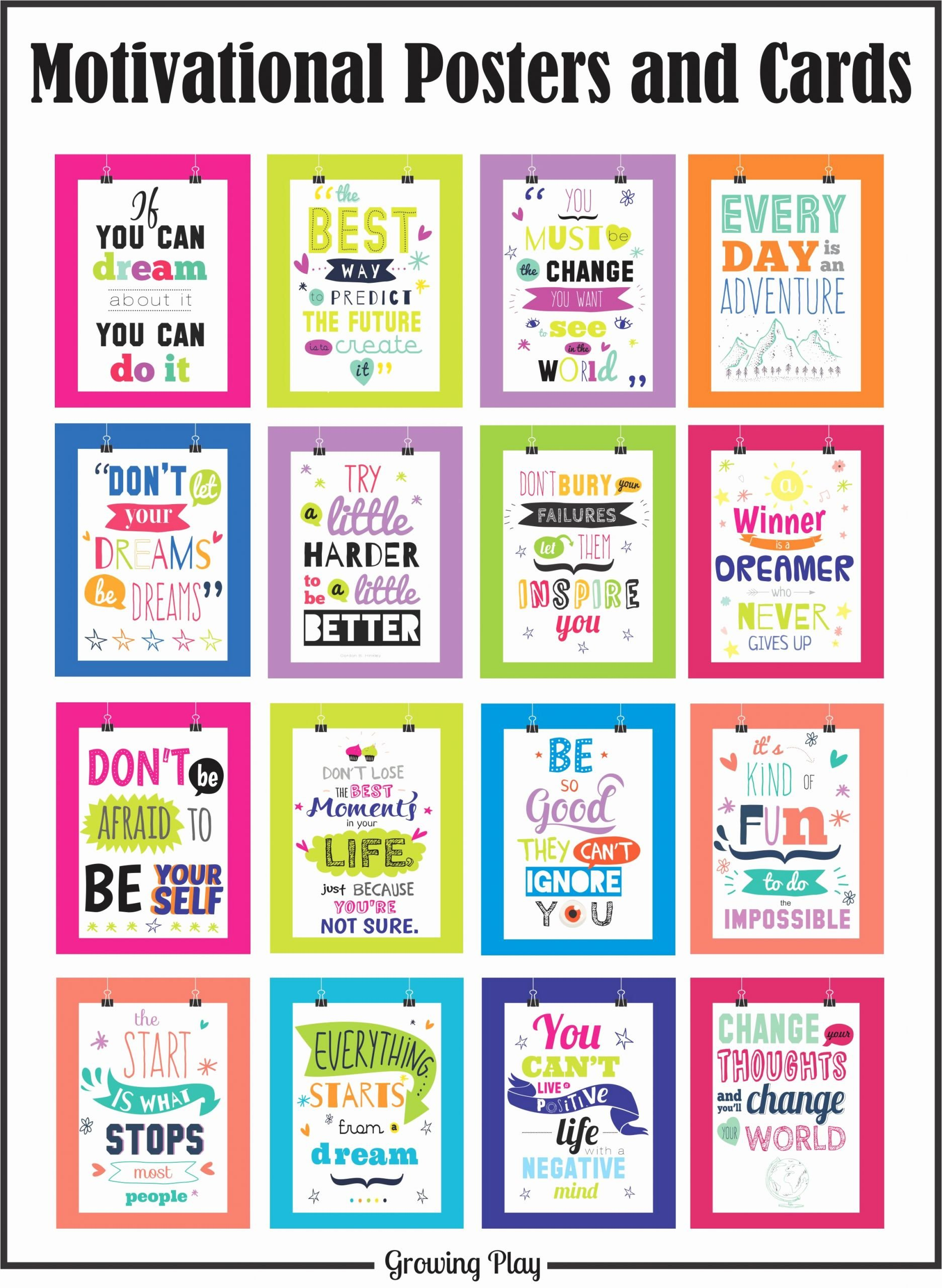 Free Printable Encouragement Cards for Students Inspirational Motivational Posters and Cards Your therapy source