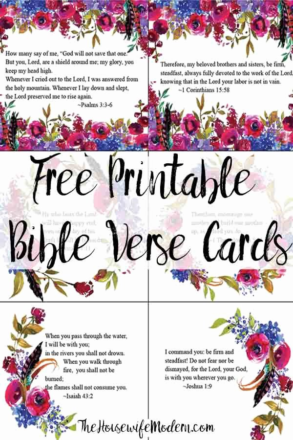 Free Printable Encouragement Cards for Students Luxury Free Printable Bible Verse Cards for when You Need