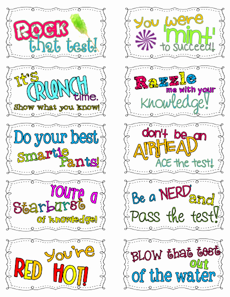 Free Printable Encouragement Cards for Students Luxury Positive Quotes for Students Taking A Test Image Quotes at