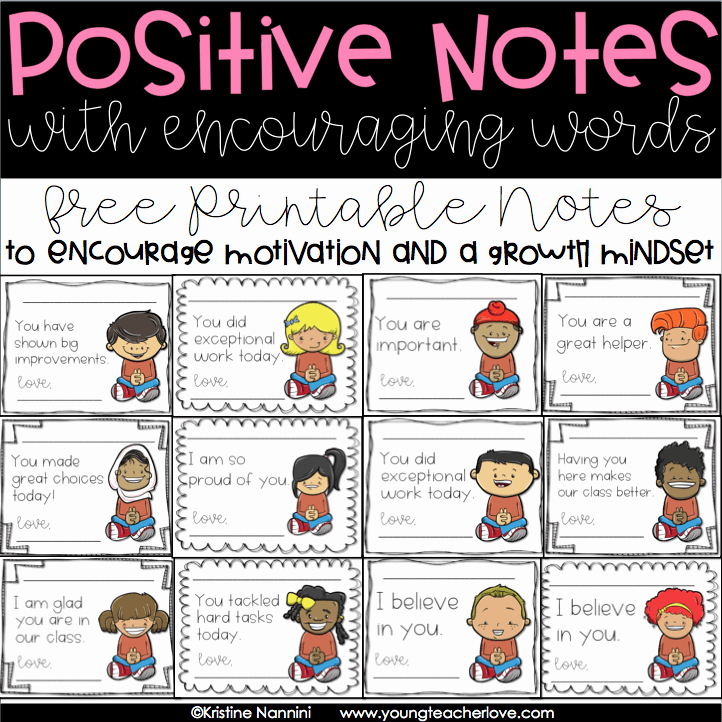 Free Printable Encouragement Cards for Students Unique Secrets Of Successful Classroom Management Encouraging A