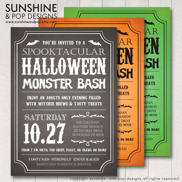 Free Printable Halloween Invitations for Adults Fresh Halloween Invitations Adult or Child Diy Printable Party