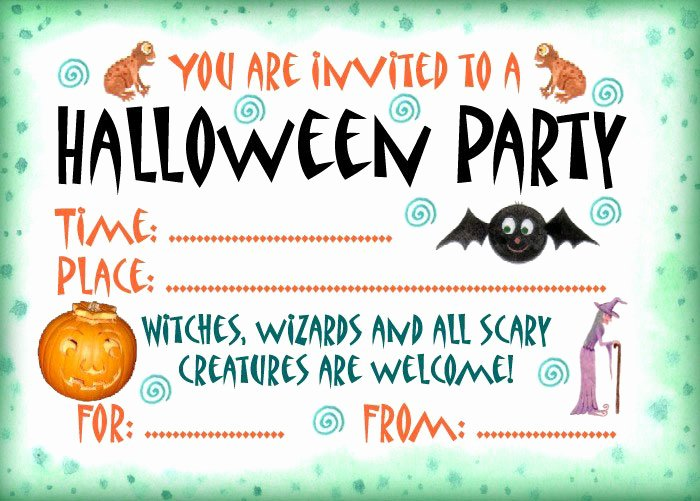 Free Printable Halloween Invitations for Adults Inspirational 16 Awesome Printable Halloween Party Invitations