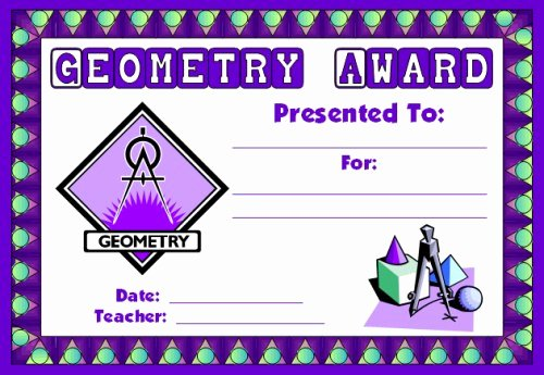 Free Printable Math Certificates Luxury Math Awards Certificates