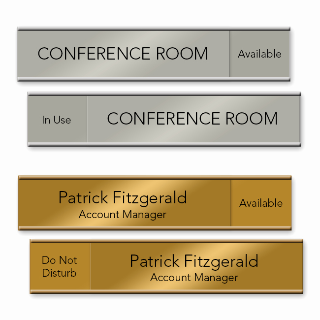 Free Printable Name Plates for Office Elegant Slider Cubicle Name Plates Napnameplates