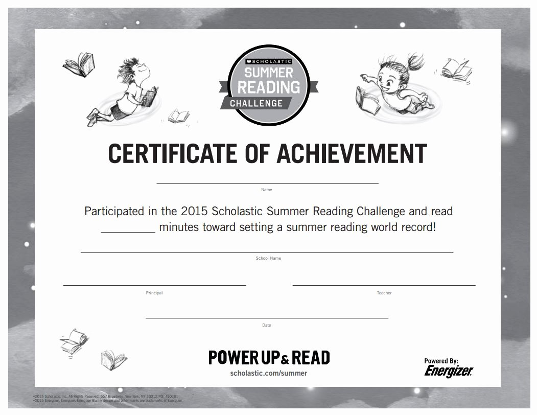 Free Printable Reading Certificates Best Of 10 Ways to Motivate Students to Read All Summer Long