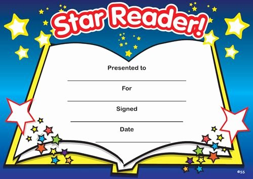 Free Printable Reading Certificates Best Of Print Accelerated Reading Certificate Star Reader