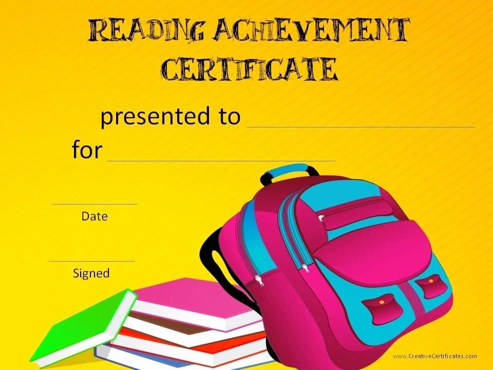 Free Printable Reading Certificates Elegant Free Editable Reading Certificate Templates Instant Download