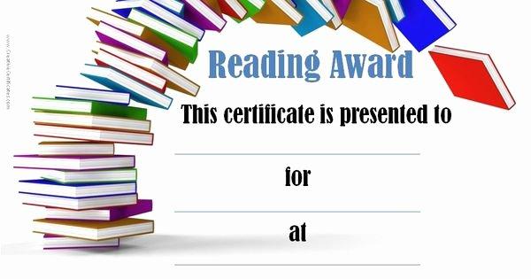 Free Printable Reading Certificates New Free Printable Reading Certificate Templates Ptp6k8ux
