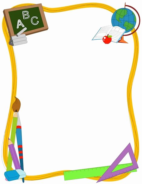 Free Printable School Borders Inspirational Preschool Borders Clipartion