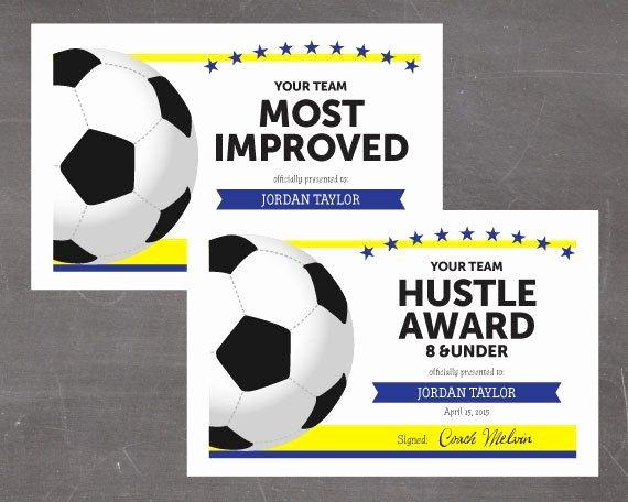 Free Printable soccer Awards Luxury Best 25 Award Certificates Ideas On Pinterest