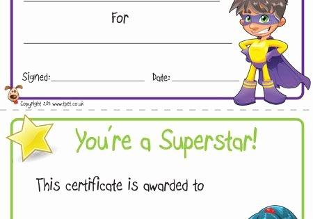 Free Printable Superhero Certificates Elegant Free Printable Superhero Certificates for Your Super Kids