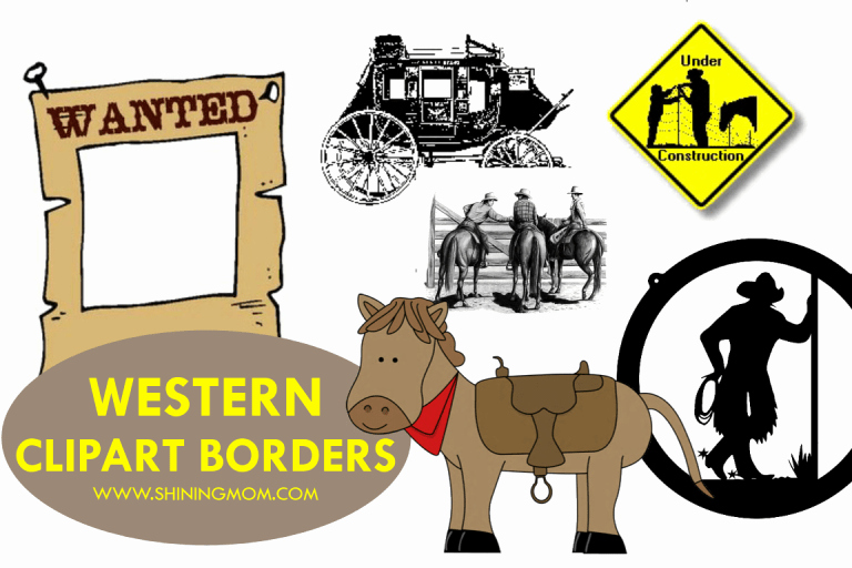 Free Printable Western Borders Beautiful where to Find Free Western Clipart Borders