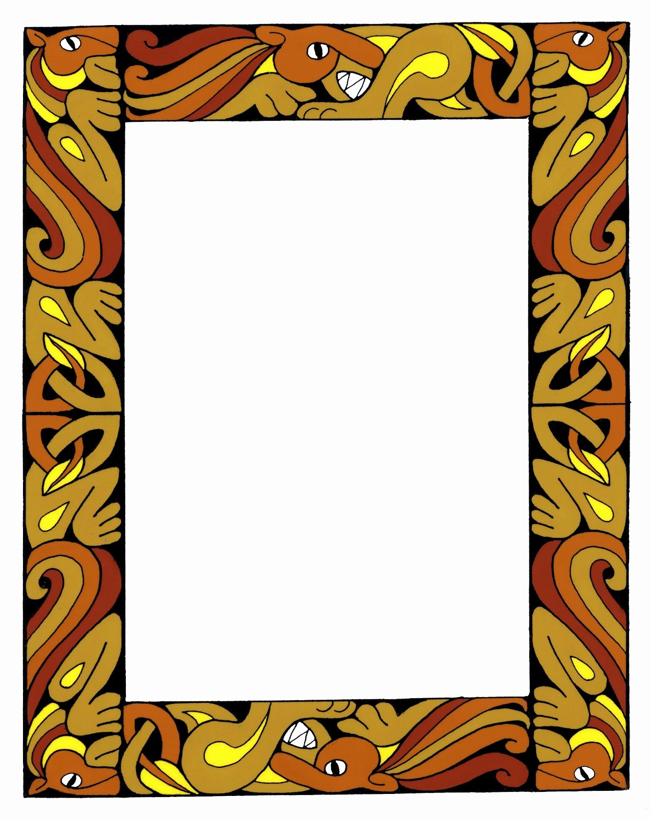 Free Printable Western Borders Luxury Western Clip Art Borders Free Clipart Library