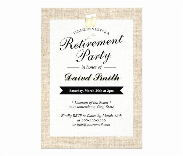 Free Retirement Party Invitation Templates for Word Awesome 36 Retirement Party Invitation Templates Psd Ai Word