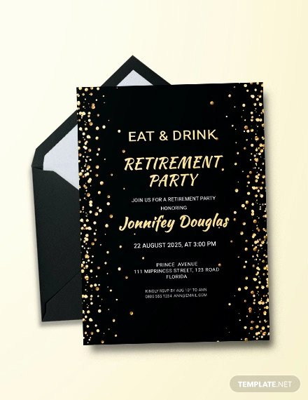 Free Retirement Party Invitation Templates for Word Fresh 36 Retirement Party Invitation Templates Psd Ai Word