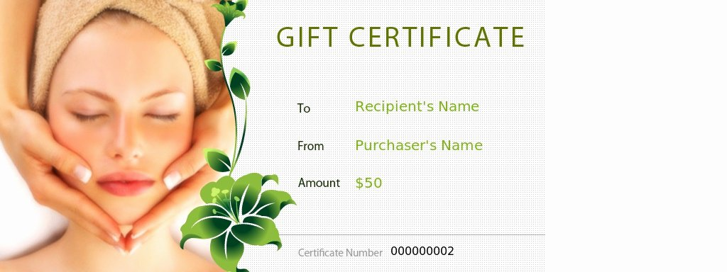 Free Salon Gift Certificate Template Inspirational 27 Of Massage Coupon Template