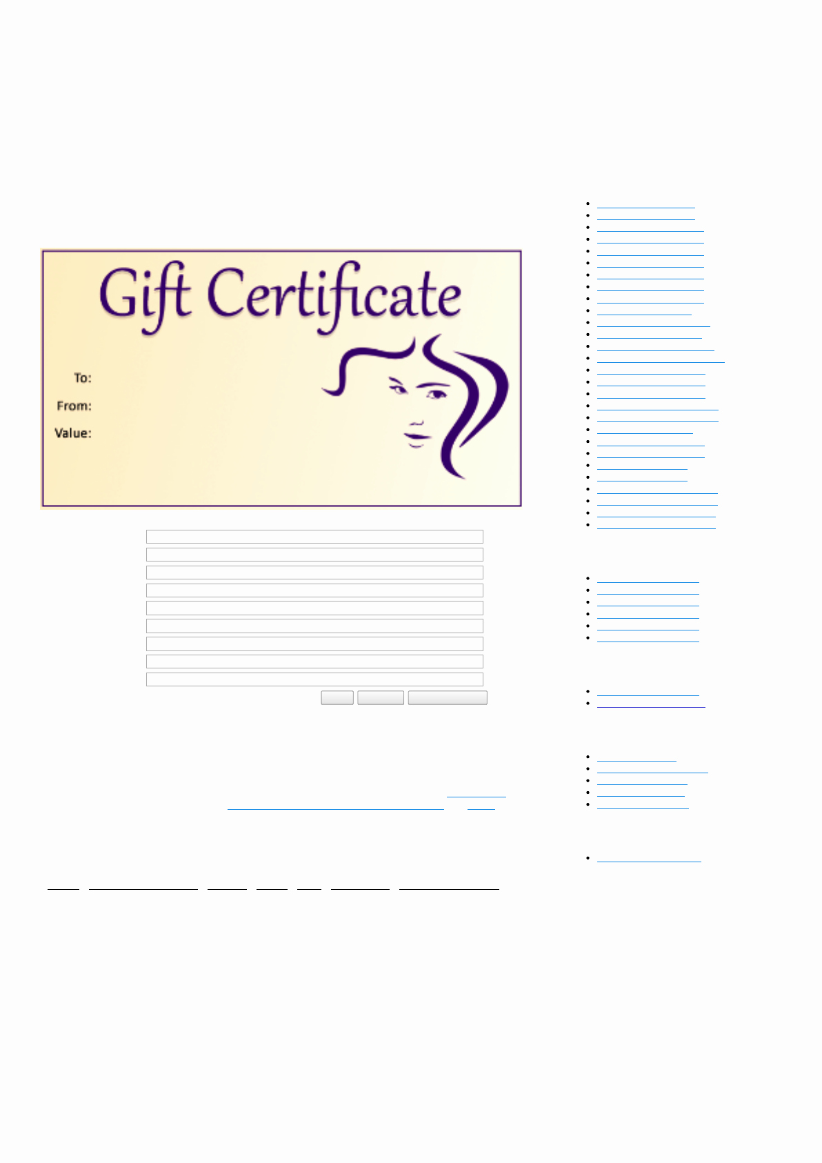 Free Salon Gift Certificate Template New Download Salon Gift Certificate Template for Free