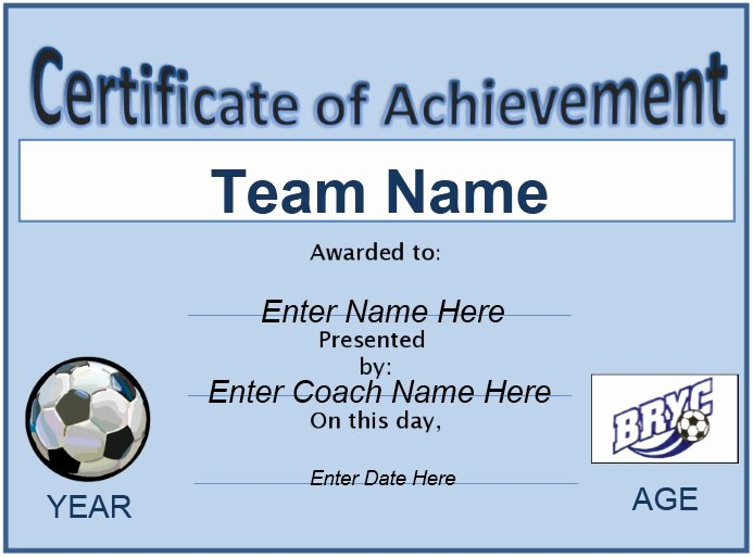 Free soccer Certificate Templates for Word Beautiful 13 Free Sample soccer Certificate Templates Printable