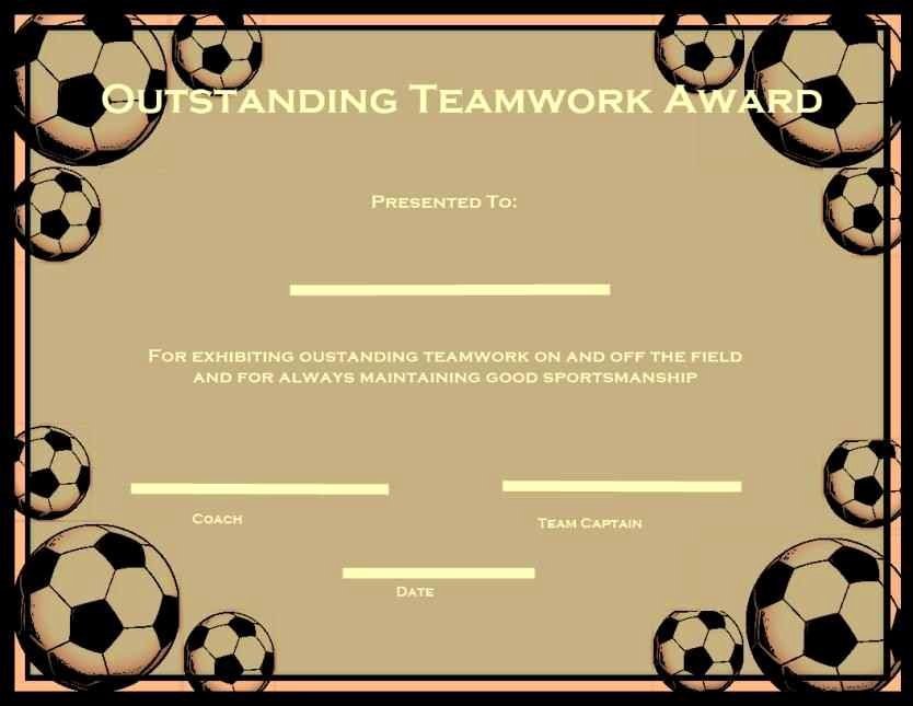 Free soccer Certificate Templates for Word Unique Free Printable soccer Certificate Templates Template