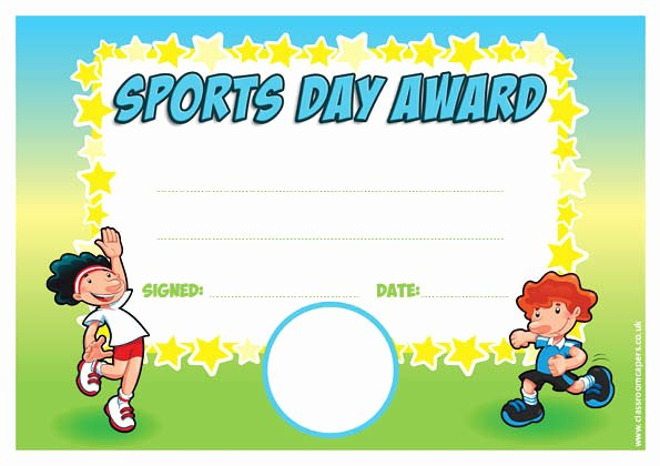 Free softball Certificates to Print Best Of Personalised Certificates for Schools