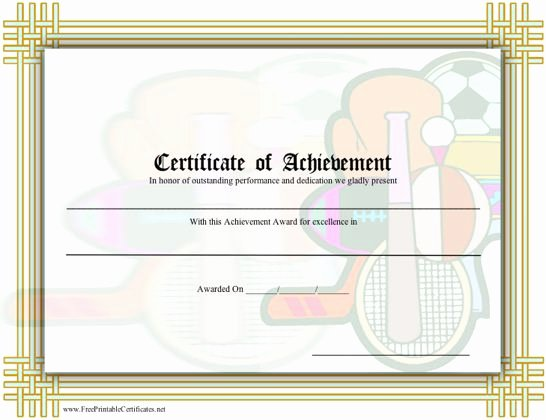 Free softball Certificates to Print Luxury Best S Of Sports Participation Certificates