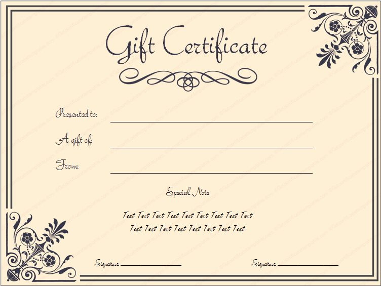 Free Spa Gift Certificate Template Printable Lovely Tvoucher Ttemplate Tcertificate
