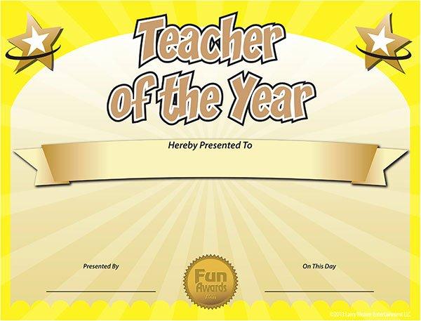 Free Teacher Appreciation Certificates Luxury Free Printable Certificates Funny Printable Certificates