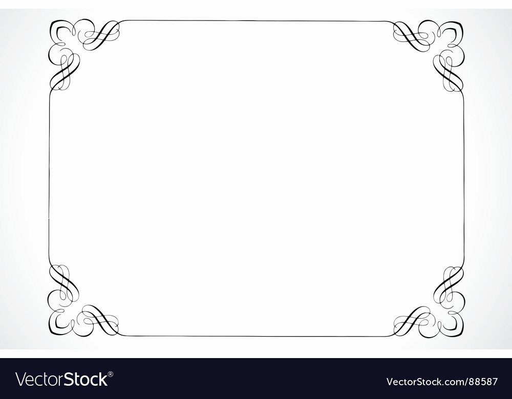 Free Vector Certificate Borders Beautiful Certificate Frame Royalty Free Vector Image Vectorstock