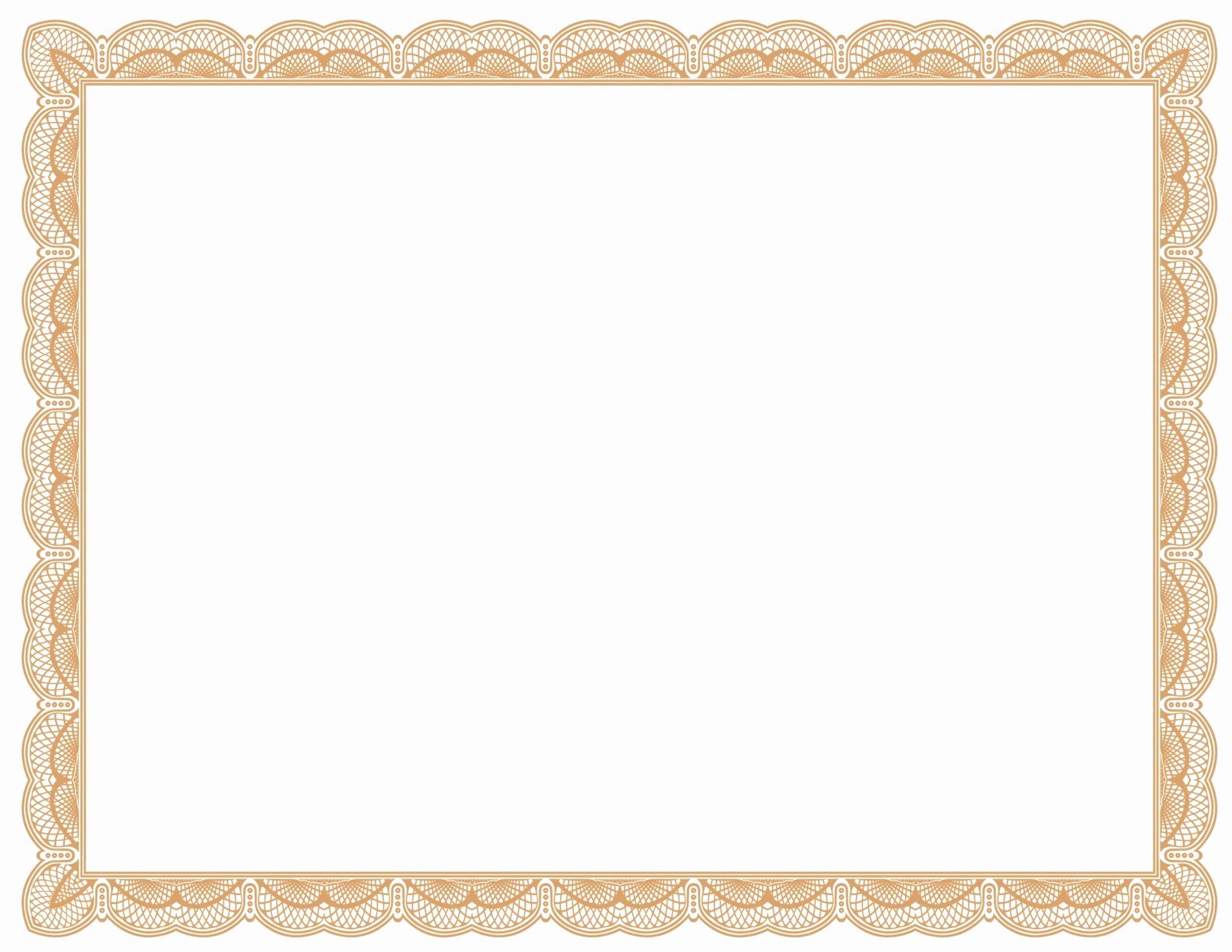 Free Vector Certificate Borders Best Of Certificate Border Vector Free Download at Getdrawings