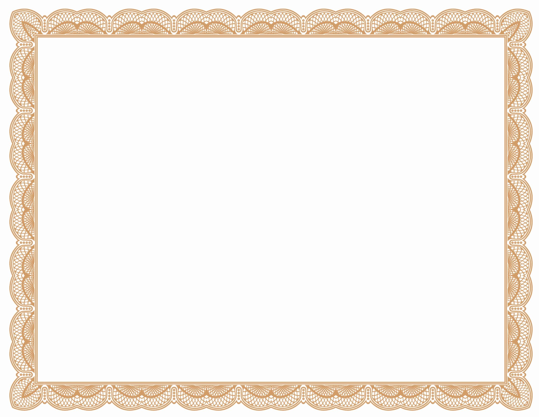 Free Vector Certificate Borders Lovely Certificate Background Clipart Best