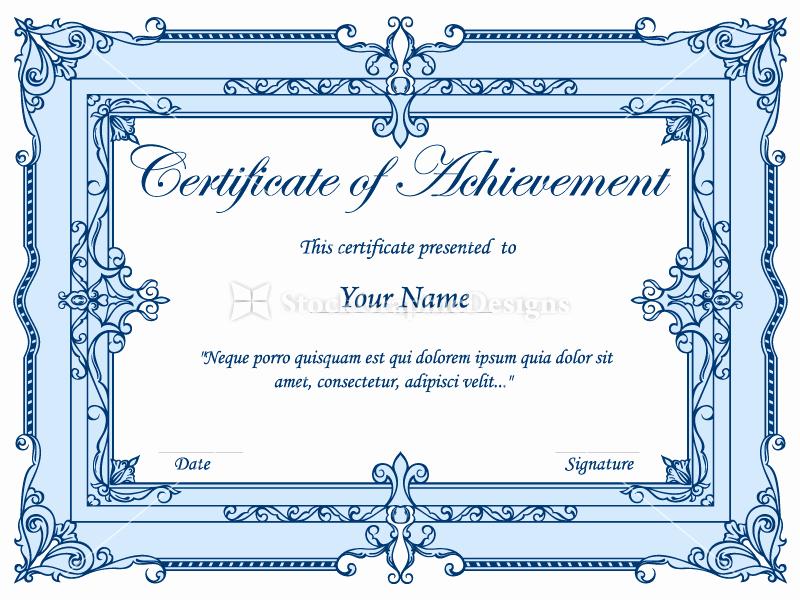 Free Vector Certificate Borders Lovely Certificate Border Vector Set 1