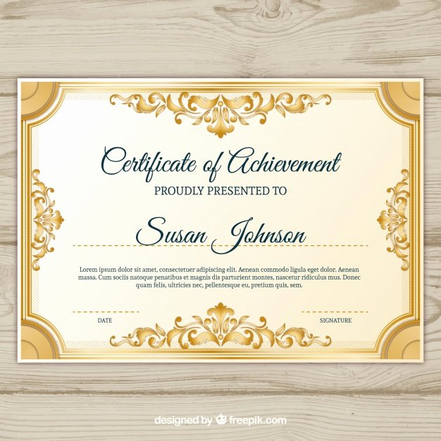 Free Vector Certificate Borders Unique ornamental Certificate Border Vector