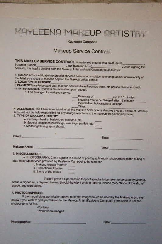 protect yourself makeup artist