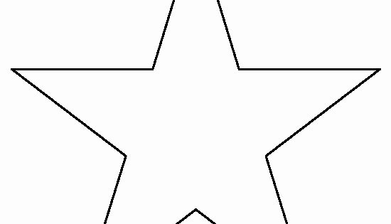 Full Page Star Template Luxury 8 Inch Star Pattern Use the Printable Outline for Crafts