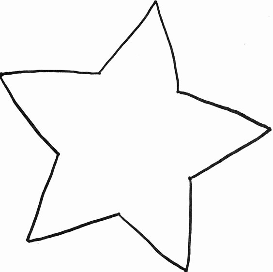 Full Page Star Template New Star Template