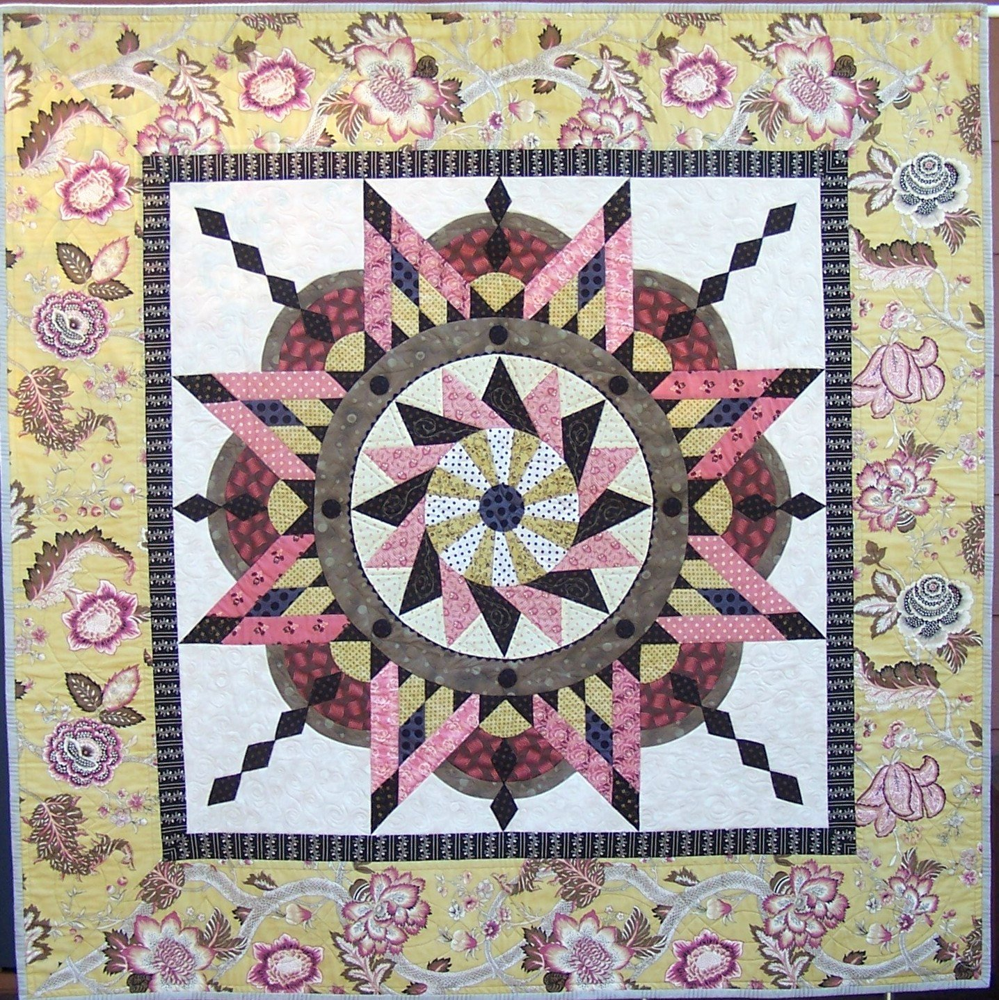Full Page Star Template Unique Jacobean Star Quilt Pattern