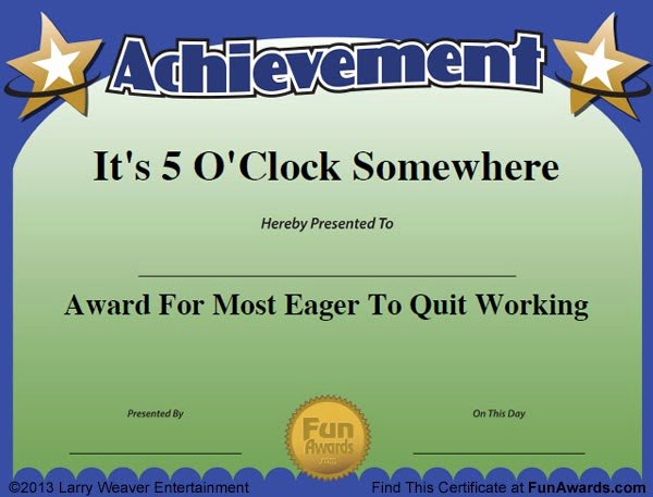 Funny Award Categories for Teachers Elegant Funny Award Ideas Funny Award Names